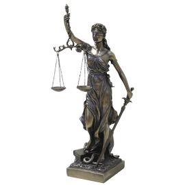 DIOSA DE LA JUSTICIA 33X10X9CM (REF 1346)