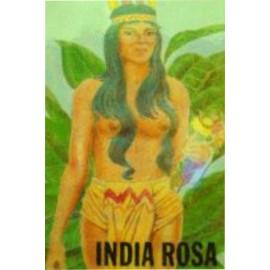 ESTAMPA INDIA ROSA