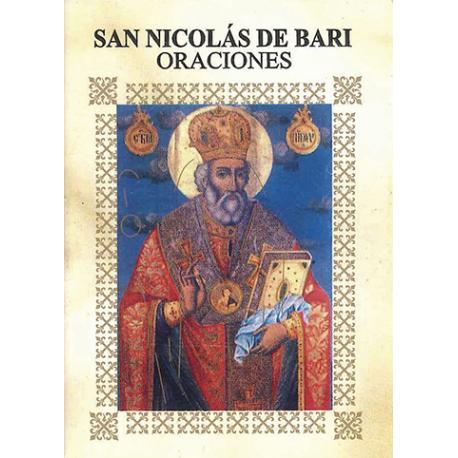 LIBRITO ORACIONES NICOLAS DE BARI 7X5 CM