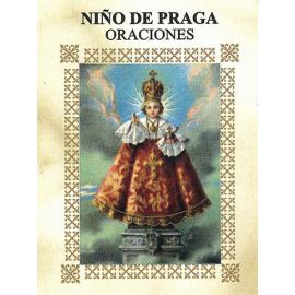 LIBRITO ORACIONES NIÑO DE PRAGA 7X5 CM