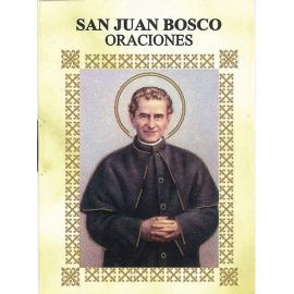 LIBRITO ORACIONES JUAN BOSCO 7X5 CM