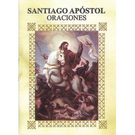 LIBRITO ORACIONES SANTIAGO APOSTOL 7X5 CM