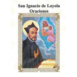 LIBRITO ORACIONES IGNACIO DE LOYOLA 7X5 CM