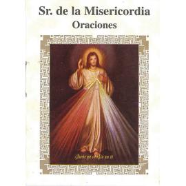 LIBRITO ORACIONES SEÑOR DE LA MISERICORDIA 7X5 CM
