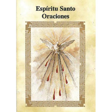 LIBRITO ORACIONES ESPIRITU SANTO 7X5 CM