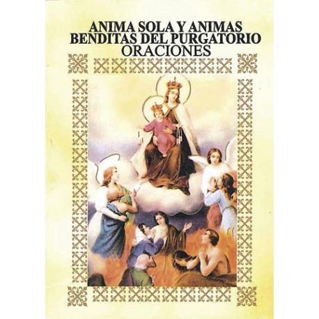 LIBRITO ORACIONES ANIMA SOLA Y ANIMAS BENDITAS