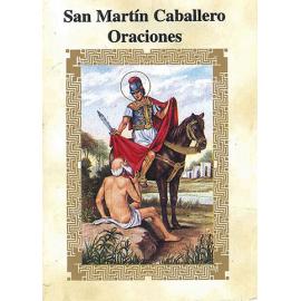 LIBRITO ORACIONES MARTIN CABALLERO 7X5 CM