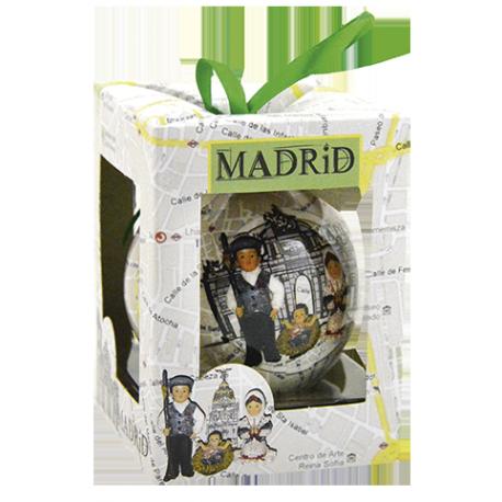 MISTERIO MADRID BOLA NAVIDAD 7CM REF 17309