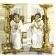 VELERO ANGEL DE RODILLA S BLANCA 20CM (REF 16/263)