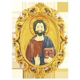 ICONO DORADO JESUS PARA COLGAR 20CM REF14331