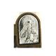 ICONO PLATEADO CRISTO 6CM REF 14329