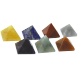 SET CHAKRAS PIRAMIDES MINERAL 2cm APROX 12647021
