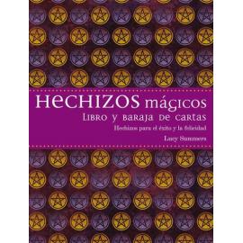 HECHIZOS MAGICOS LIBRO Y BARAJA DE CARTAS
