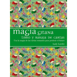 MAGIA GITANA LIBRO Y BARAJA DE CARTAS
