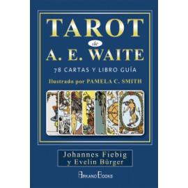 TAROT WAITE 78 CARTAS Y LIBRO GUIA