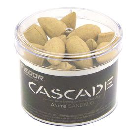 INCIENSO CASCADA AROMA  SANDALO 80GR REF 52154