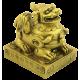 DRAGON CHINO RESINA DORADO 7X5X8CM REF 9758169