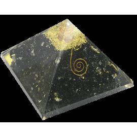 ORGON MINERAL PIRAMIDE GRANDE TURMALINA 12,5X12,5X9,5 CM