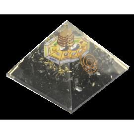 ORGON MINERAL PIRAMIDE FENG SHUI TURMALINA 7X7X6CM