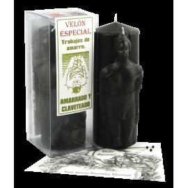 VELON ESPECIAL AMARRADO Y CLAVETEADO