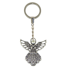 LLAVERO METAL ANGEL 4CM