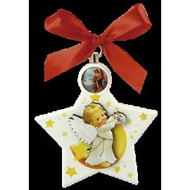 ESTRELLA COLGANTE PARA CUNA ANGEL INFANTIL 10CM APRO
