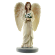 ANGEL GUARDIAN DE PIE CON FLORES 22 CM.(ANGP22)