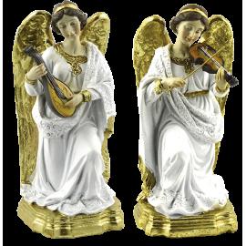 ANGEL MUSICO DE PIE A B 16CM APROX REF 09053