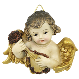 ANGEL BUSTO MUSICA 8CM APROX REF 07322