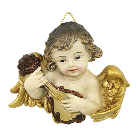 ANGEL BUSTO MUSICA 8CM APROX REF 07322