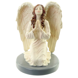 ANGEL GUARDIAN ORANDO DE RODILLAS 15 CM. (ANGP17)