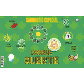 SAHUMERIO DOBLE SUERTE
