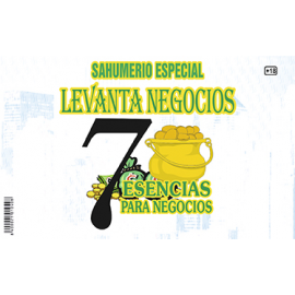 SAHUMERIO LEVANTA NEGOCIOS