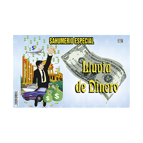 SAHUMERIO LLUVIA DE DINERO