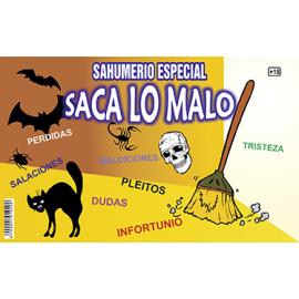 SAHUMERIO SACA LO MALO