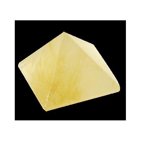 PIRAMIDE CITRINO 2X2cm APROX