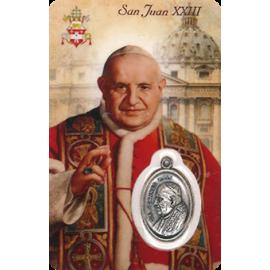 ESTAMPA MEDA PAPA JUAN XXIII