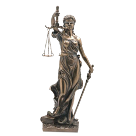 IMAGEN LA JUSTICIA 20X8X7CM REF 51736