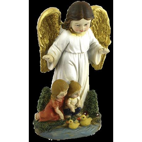 ANGEL DE LA GURDA CON NIÑOS AB 10CM APROX REF 19344