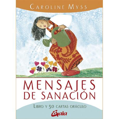 MENSAJES DE SANACION LIBRO Y 50 CARTAS ORACULO