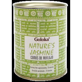 INCIENSO CONO REFLUJO GOLOKA NATURES - JAZMIN INC495