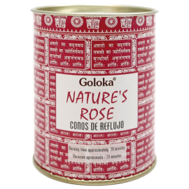 INCIENSO CONO REFLUJO GOLOKA NATURES - ROSAS INC496