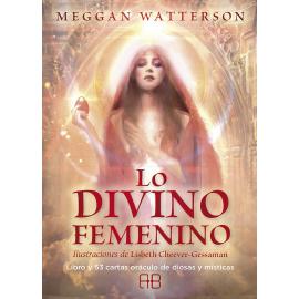 LO DIVINO FEMENINO LIBRO Y 53 CARTAS