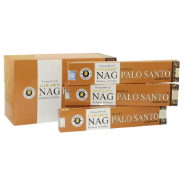 INCIENSO GOLDEN NAG PALO SANTO EN VARILLA