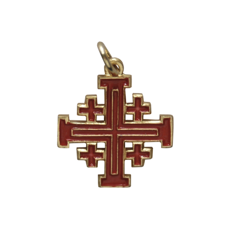 CRUZ DE JERUSALEN 2 cm