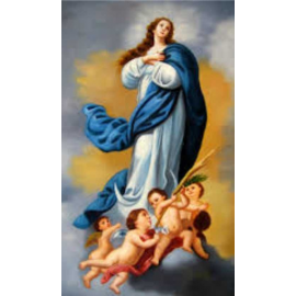 ESTAMPA INMACULADA VIRGEN