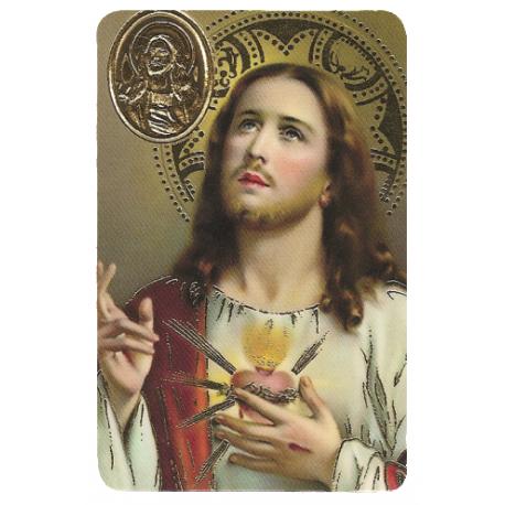 ESTAMPA MED SAGRADO CORAZON DE JESUS