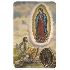 ESTAMPA MED VIRGEN GUADALUPE (MEXICO)