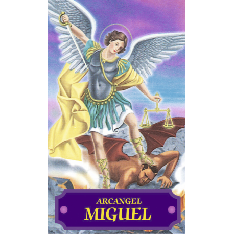 ESTAMPA MIGUEL ARCANGEL