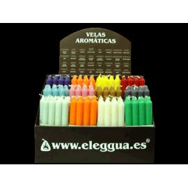 EXPOSITOR VELAS PERFUMADAS 144/uni.